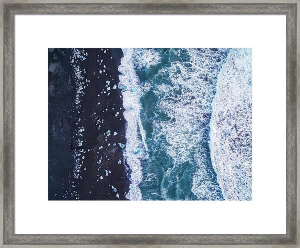 From Above Iv Framed Print