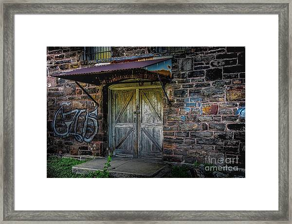 From Days Gone By Framed Print