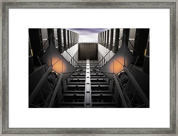 From Mechanical Nadir Framed Print