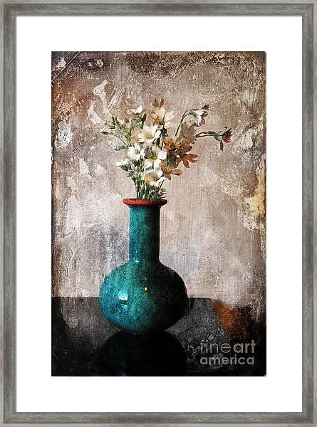 From The Garden Framed Print