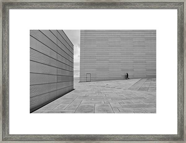 From Where To Where? Framed Print