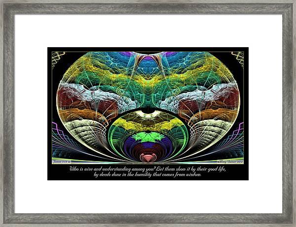 From Wisdom Framed Print