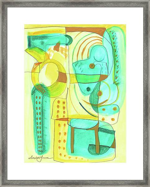 From Within 4 Framed Print