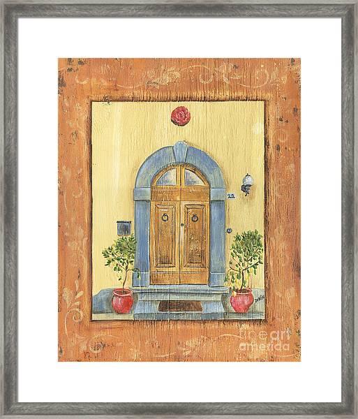 Front Door 1 Framed Print