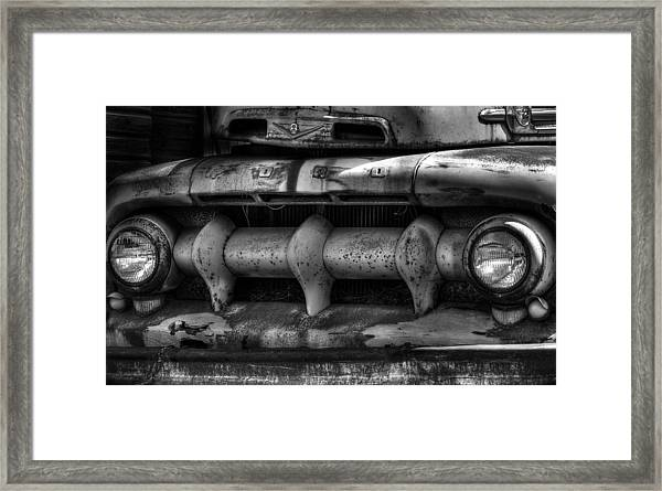 Front Of Fifty Two Ford Framed Print