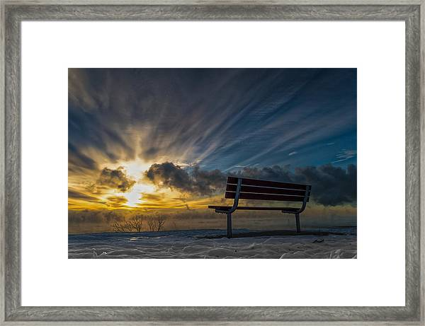 Front Row Framed Print