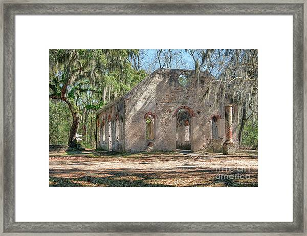 Front View Of The Chapel Of Ease Framed Print