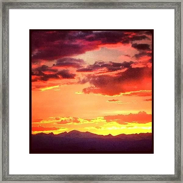 Frontrangecolorado  Framed Print by Jake Harral