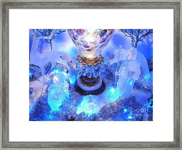 Frozen Nativity 2 Framed Print