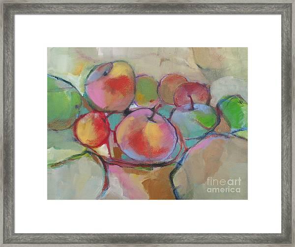 Fruit Bowl #5 Framed Print