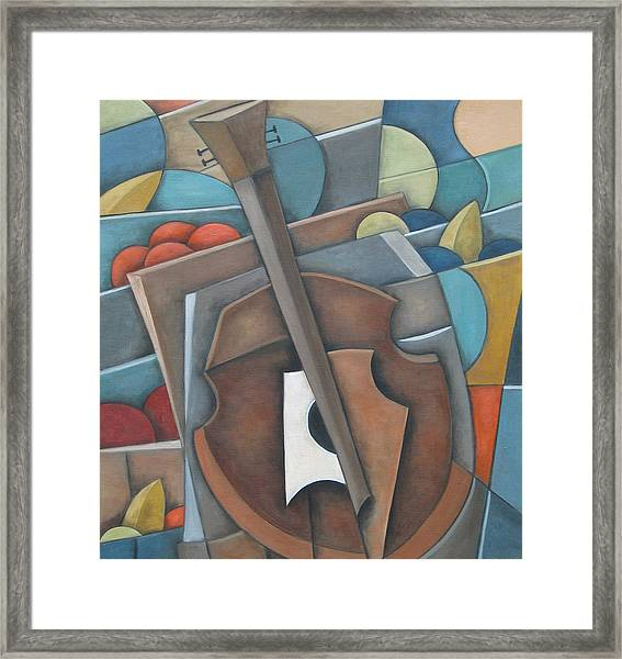 Fruit Cello Framed Print
