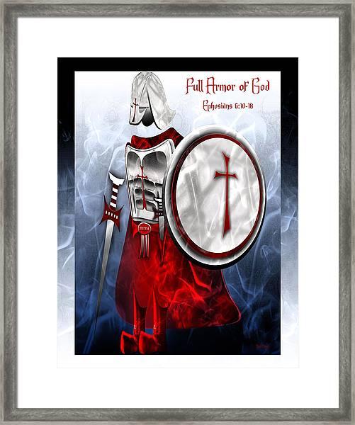 Full Armor Of God Framed Print