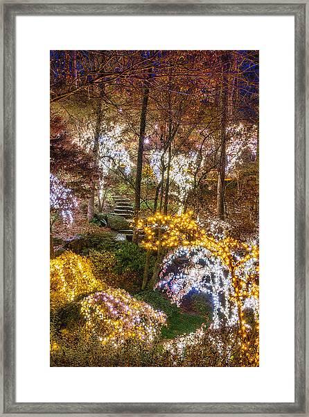 Golden Valley - Full Height Framed Print