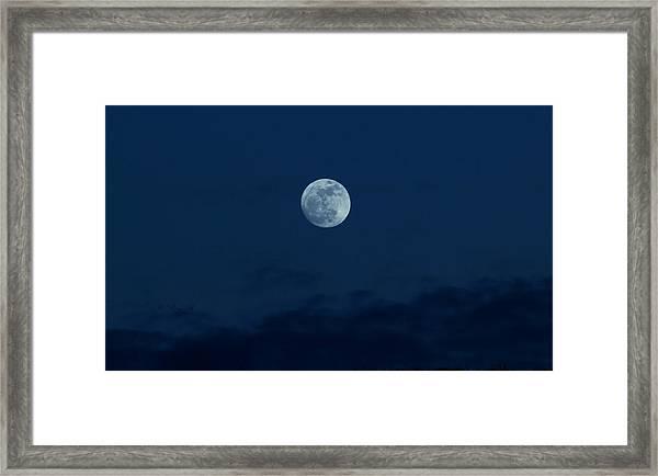 Full Moon Jan 2013 Framed Print