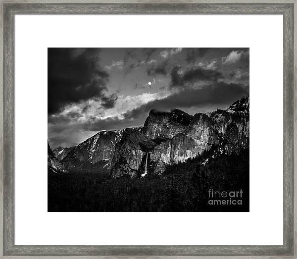 Full Moon View Framed Print