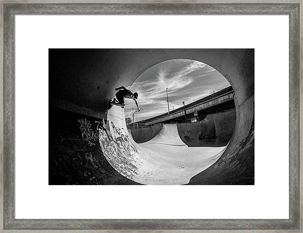 Full Pipe @ Sam Taeymans Framed Print