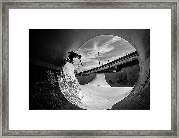 Full Pipe @ Sam Taeymans Framed Print by Eric Verbiest