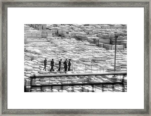 Funeral In Jerusalem 1 Framed Print