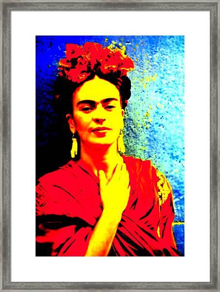Funky Frida IIi Framed Print