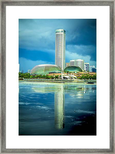 Funny Architecture Framed Print