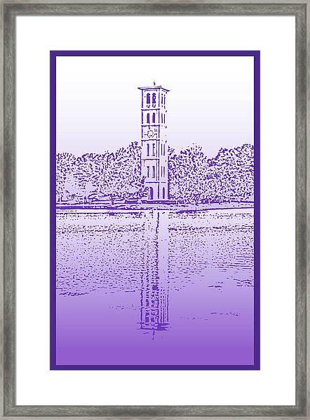 Furman Bell Tower Framed Print