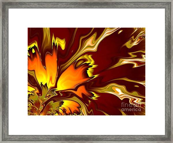 Furnace Framed Print