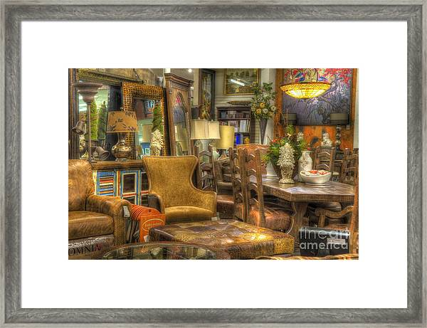 Furniture Corner Framed Print