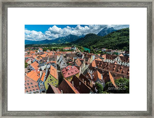 Fussen - Bavaria - Germany Framed Print