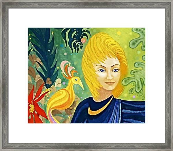 Gaia - Spirit Of Nature Framed Print