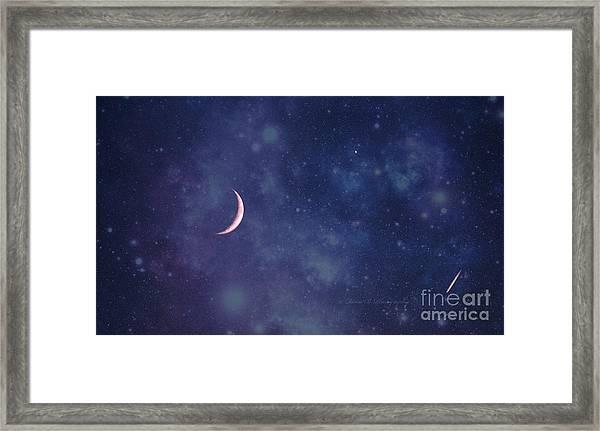 Galactic Show Framed Print