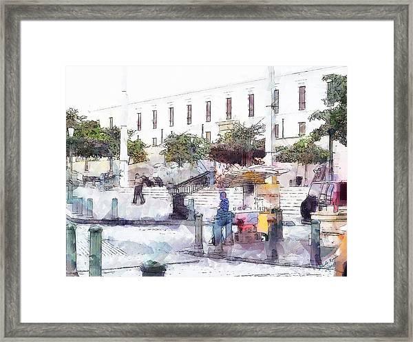 Galeria Nacional Framed Print