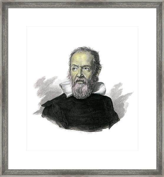 Galileo Galilei Framed Print by Detlev Van Ravenswaay