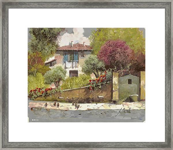 Galline Framed Print