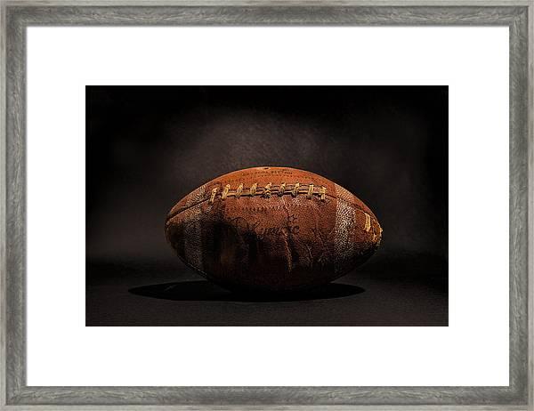 Game Ball Framed Print