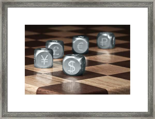 Game Of Chance Framed Print