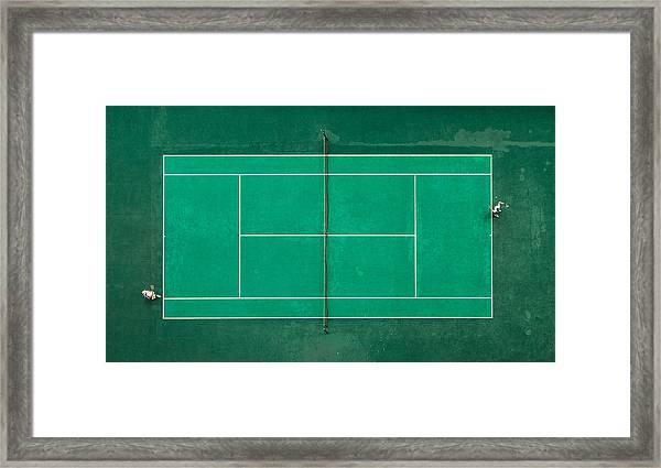 Game! Set! Match! Framed Print