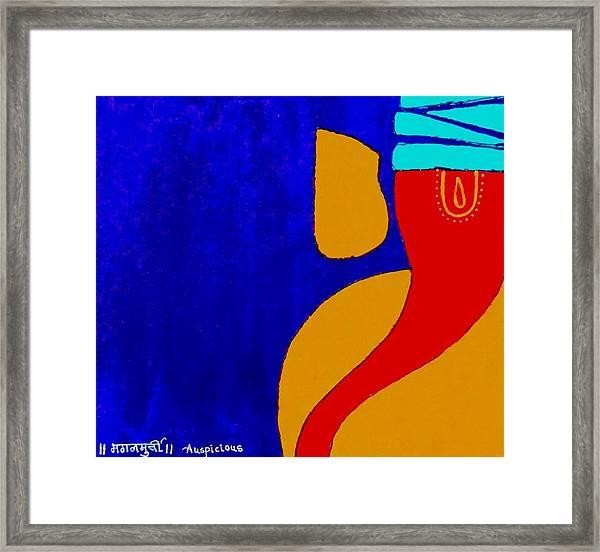 4 Ganesh Mangalmurti Framed Print