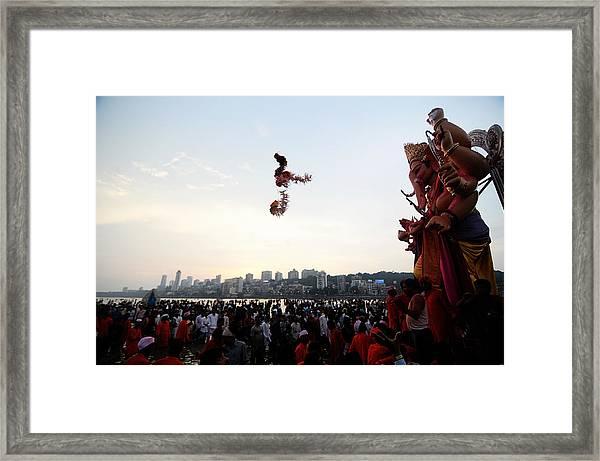 Ganesha Blessings Framed Print