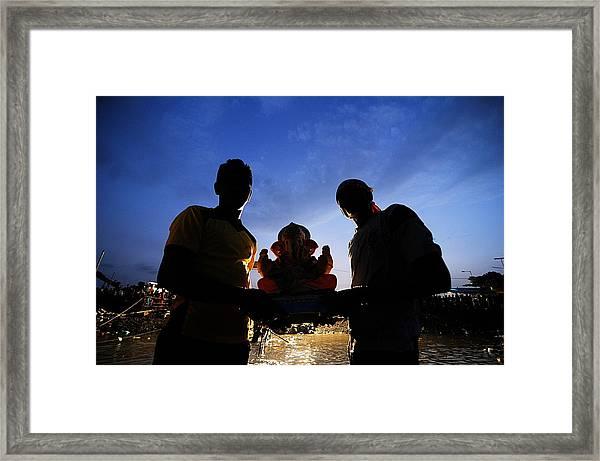 Ganesha Fest Framed Print