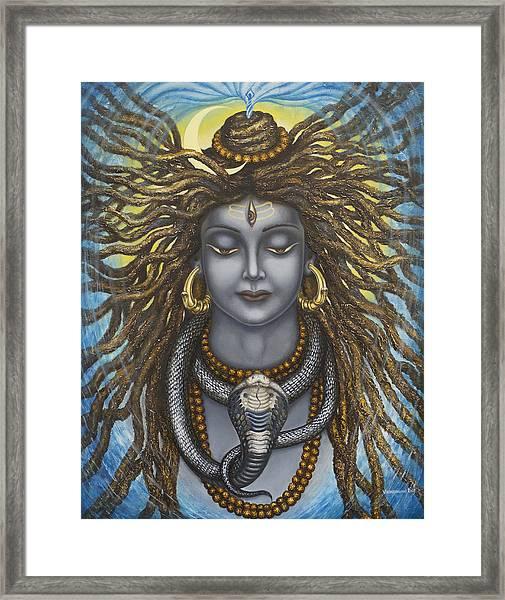 Gangadhara Shiva Framed Print