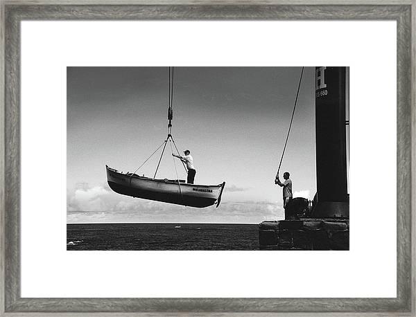 Garachico Framed Print