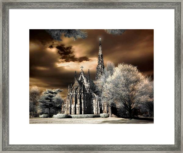 Garden City Cathedral #2 Framed Print