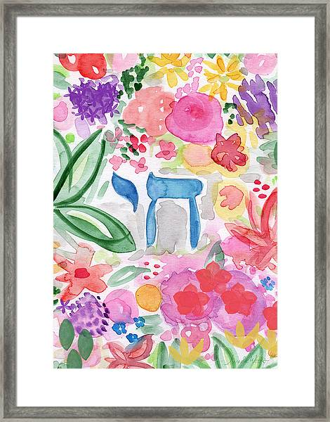 Garden Of Life Framed Print