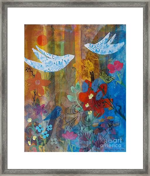 Garden Of Love Framed Print