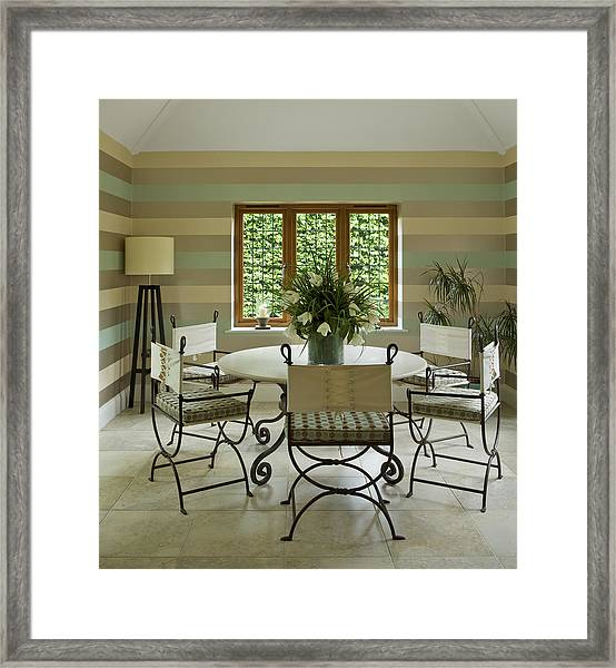Garden Room Framed Print by Phototropic