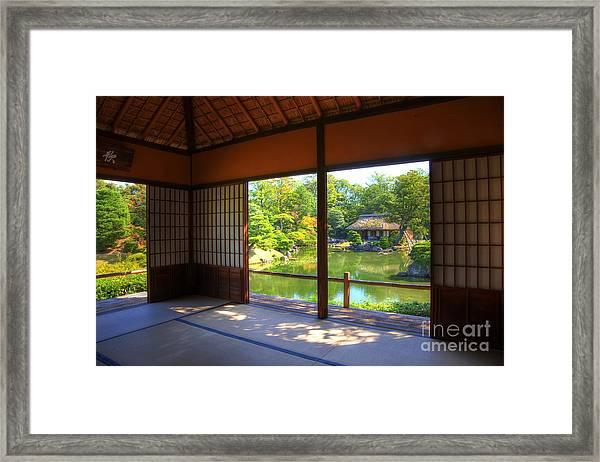 Gardenview Framed Print
