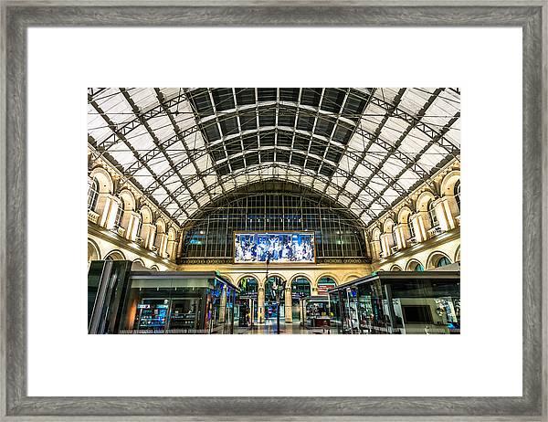Gare Du L'est Framed Print