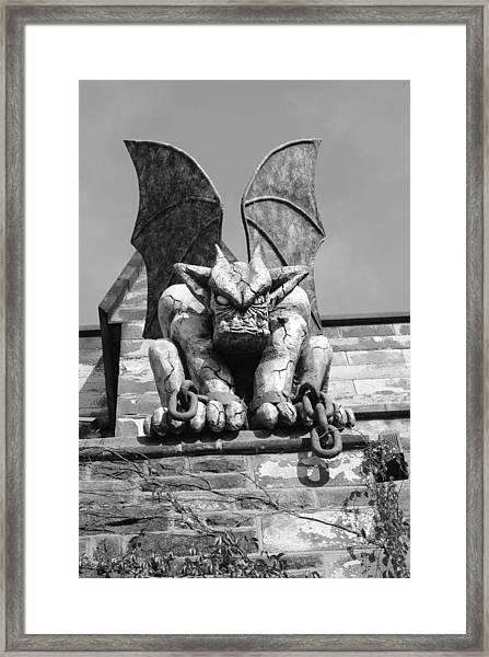 Gargoyle Framed Print