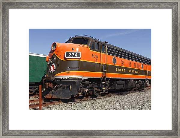 Garibaldi Locomotive Framed Print