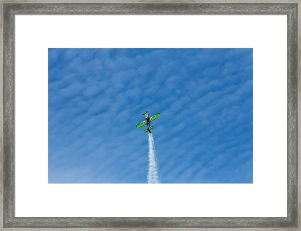Gary Ward Taking His Mx2 To Great Heights Framed Print